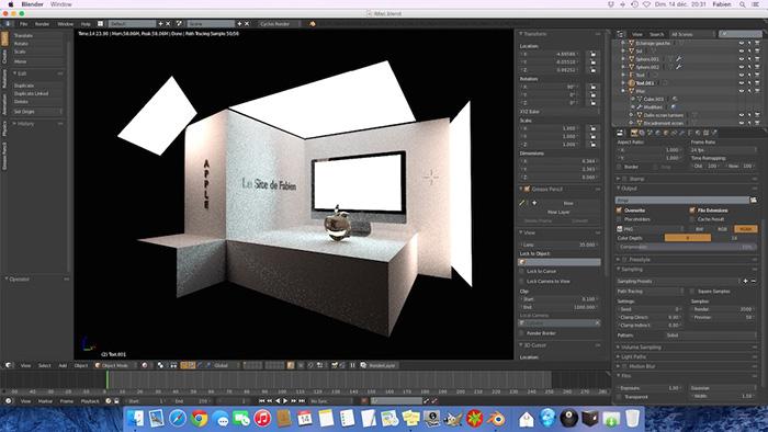 iMac-Blender