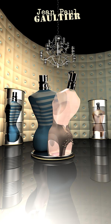 Cabine d'essayage Mixte de Jean-Paul Gaultier