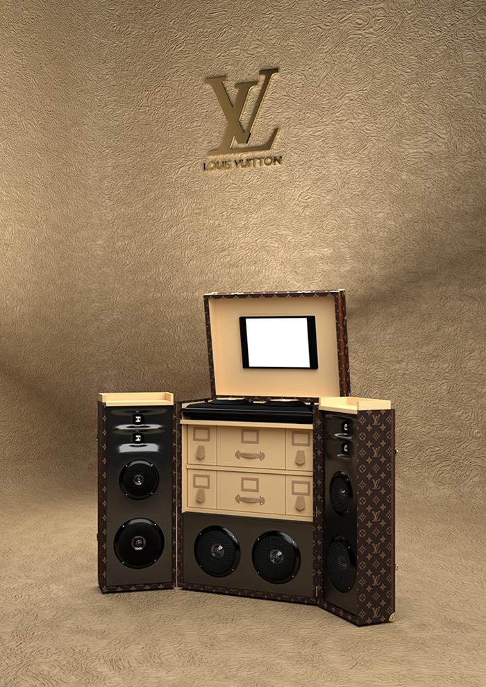 malle dj louis vuitton le site de fabien. Black Bedroom Furniture Sets. Home Design Ideas